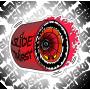 Наклейка Angry Wheel