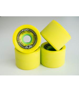Колеса Khepri Dungball 70 мм 80а лимонные комплект 4 шт.