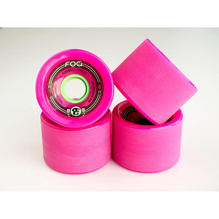 Колеса Khepri Dungball 70 мм 80а розовые комплект 4 шт.
